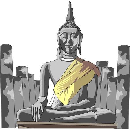 ruins: Sukhothai ruins