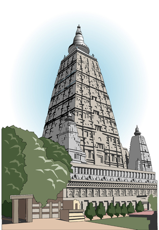 large family: Large family temple of Bodh Gaya