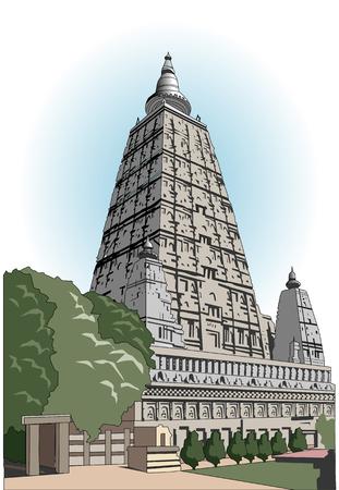 gaya: Large family temple of Bodh Gaya