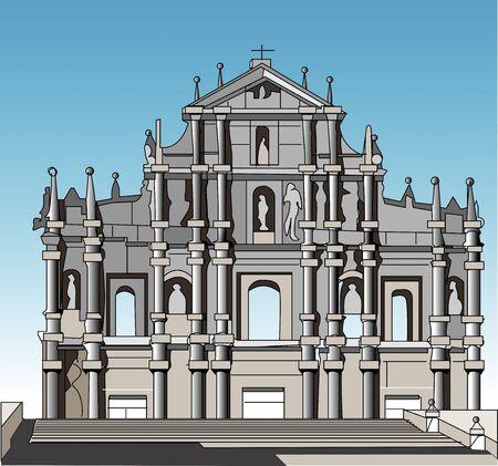 world heritage: St. Paul Ruins
