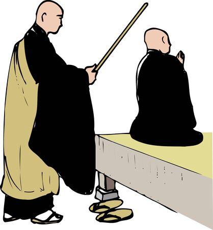 ascetic: Zen meditation