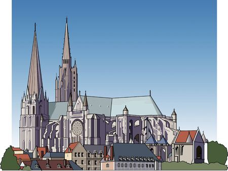 gothic architecture: Chartres Cathedral