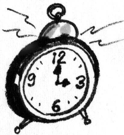 early summer: Alarm clock