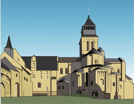 abbey: Fontevraud Abbey