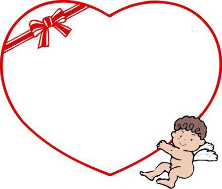 day nursery: Valentine frame