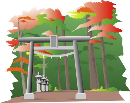 shrine: Shrine forest