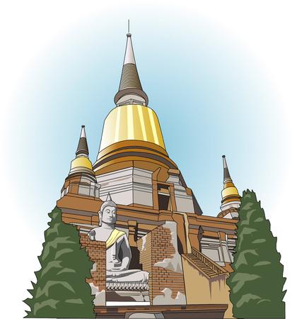 Historical city of Ayutthaya