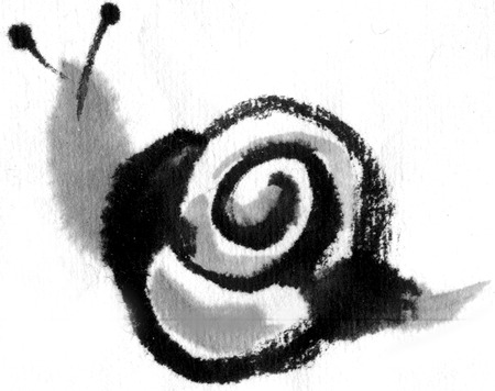 early summer: Snail