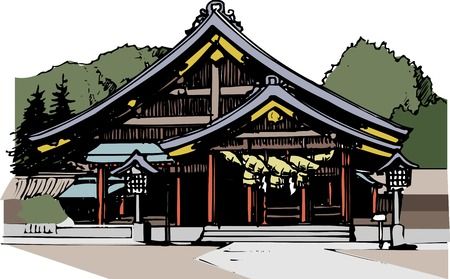 IzumoTaisha Shrine Stock Photo