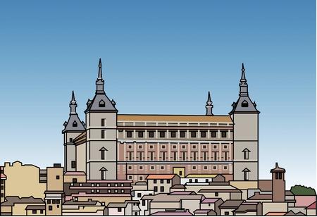 world heritage: Toledo Stock Photo