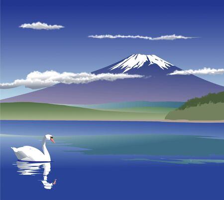 lake district: Yamanakako Fuji
