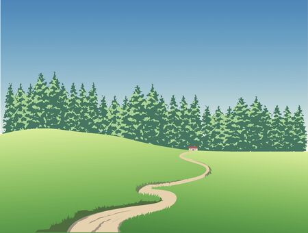 coniferous: Grassland and coniferous forest