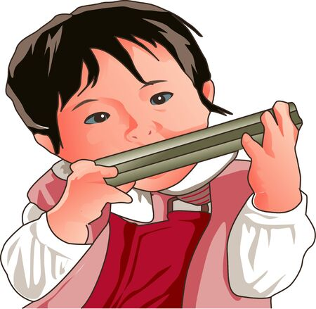 blowing: Blowing harmonica