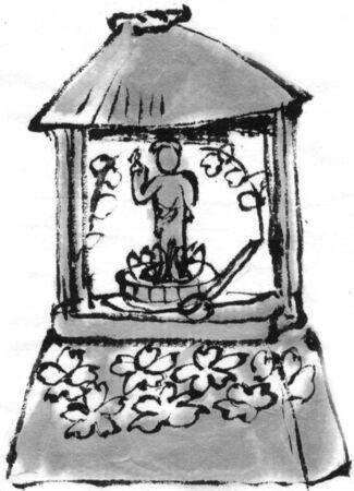 sumi: The Flower Festival Stock Photo
