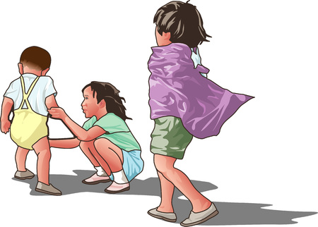 childcare: Superman