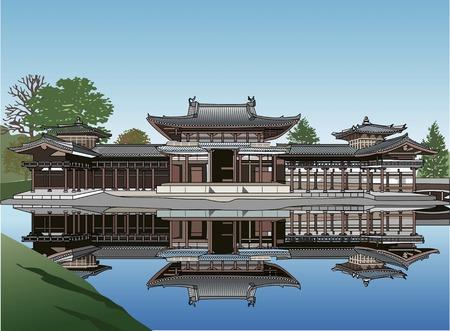 world heritage: Byodoin Temple