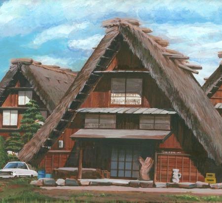 shirakawa: Shirakawa Gassho houses