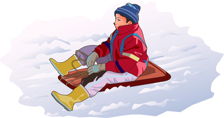 sliding: The sliding sled