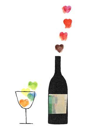 rice wine: Heart and wine