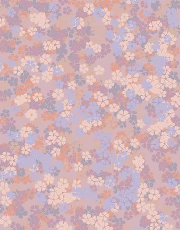 floret: Floret of pattern