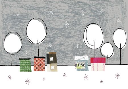 habitation: Village of winter