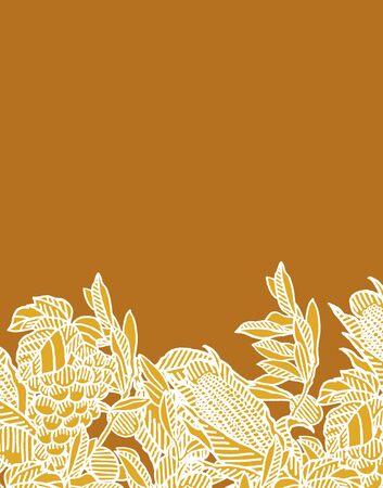 sweetcorn: Ethnic patterns