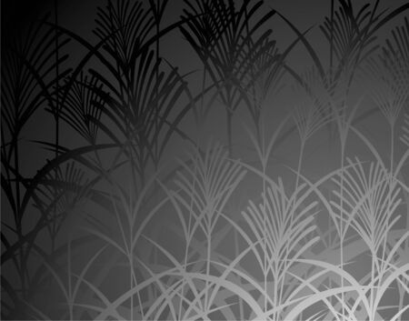 silver grass: Japanese pampas grass pattern