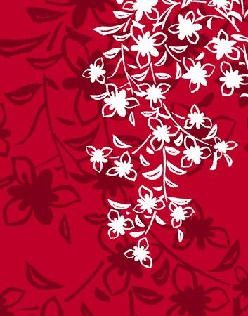 bed sheet: Floral pattern