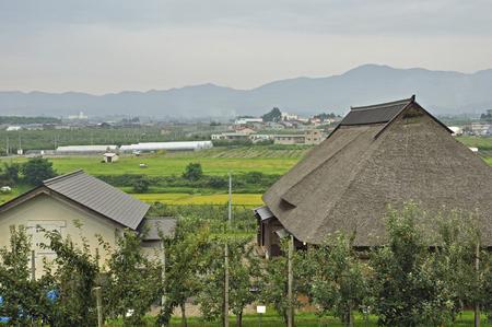 farmhouse: The old farmhouse of Hirosaki, Hirosaki apple park