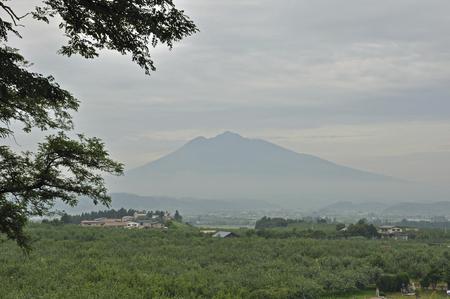 viewed: Viewed from Hirosaki, Hirosaki apple park Iwaki
