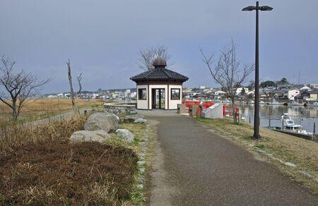 minato: Echizen three countries and Shiomi Park and Mikuni Minato