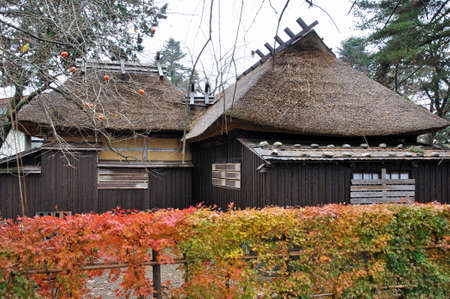 matsumoto: Late autumn of Kakunodate-Kakunodate samurai residence Matsumoto house