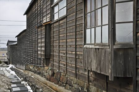 folk heritage: Bitter cold of Esashi-road designation folk cultural assets Yokoyama house