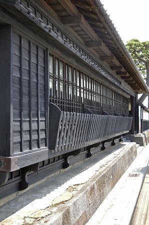 residence: Early summer of Sakata-Honma Iekyu main residence Nagaya-mon Gate