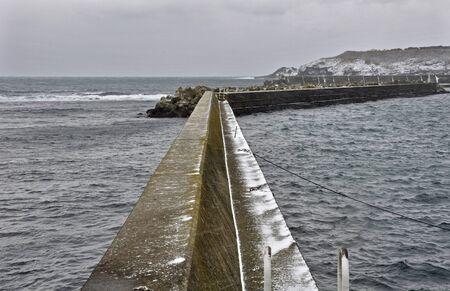 frigid: Frigid esashi,  fishing port