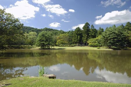 historic sites: Iwate Prefecture Hiraizumi-view freely King Institute trace Maizuru pond