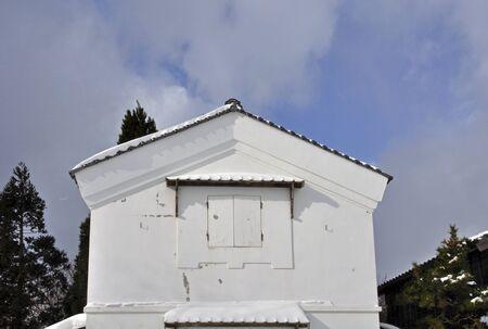 clan: Mansion severe winter of Matsumae-Matsumae clan lighter wholesaler godown