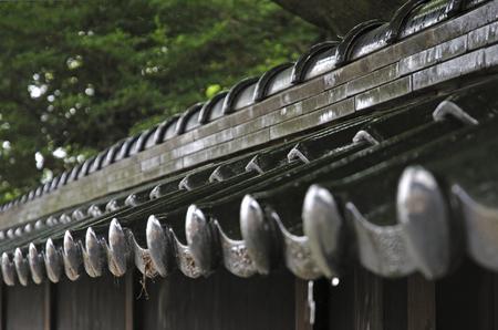 designated: Former Kazama Family Residence Heisaru-do of rain Stock Photo
