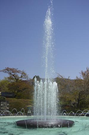 spurt: High blown Gora park fountain