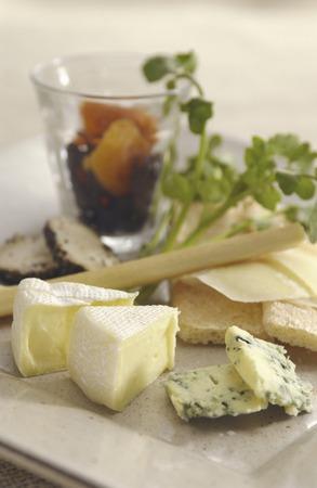 cheese platter: Cheese platter
