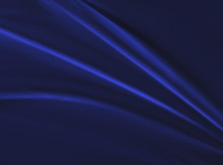 Velvet drape of blue