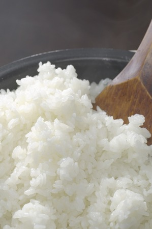 freshly cooked: Rice to increase the steam in your pot of freshly cooked