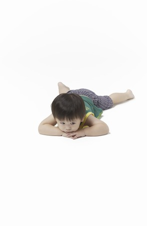 prone: What are you thinking to become prone Stock Photo