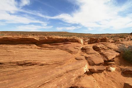 사막의 사암 형성 스톡 콘텐츠