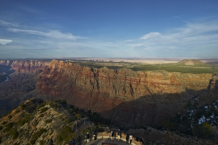 i hope: I hope Tanner Canyon from Indian Tower Stock Photo