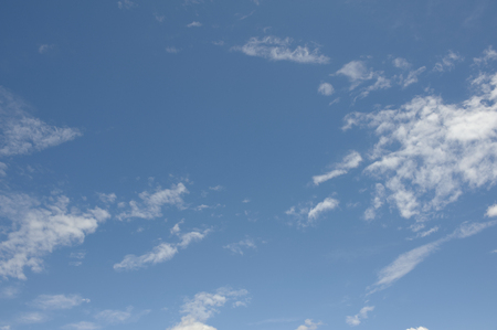 point and shoot: Typhoon blue sky and clouds