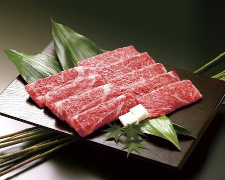 Kobe beef zoals gegrild vlees Stockfoto