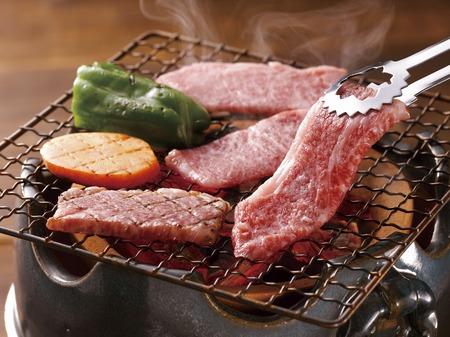 Sendai beef roast 版權商用圖片