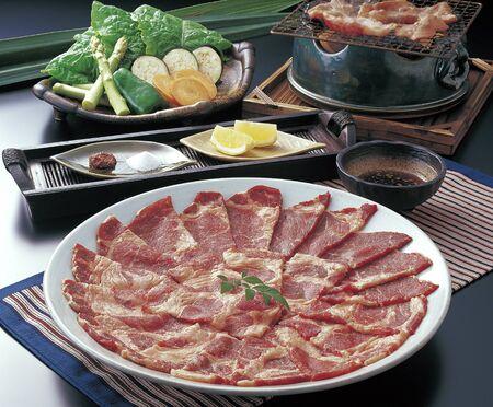 roast meat: Iberian pig roast