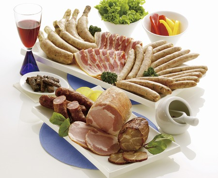 variety: Processed meat of variety